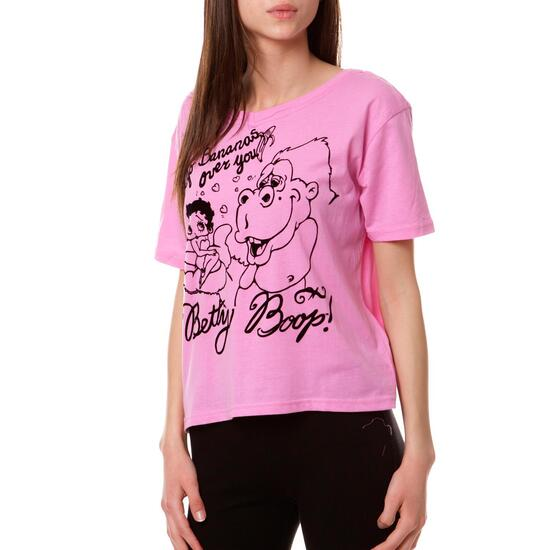 Camiseta Moda BETTY BooP Rosa Mujer