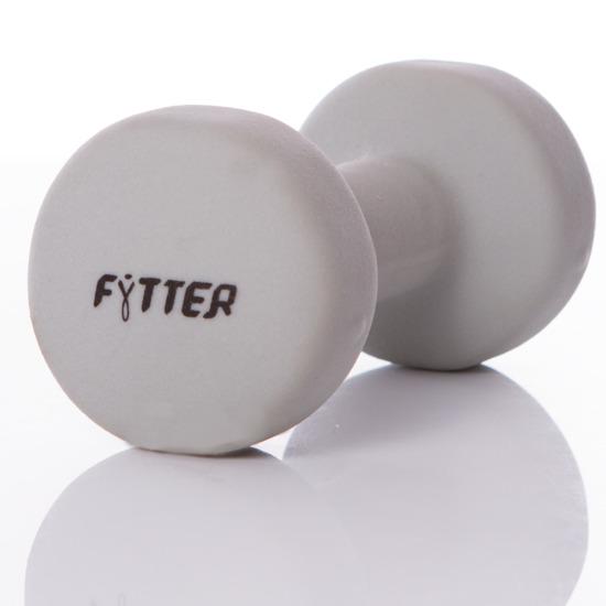 Pesa FYTTER Ergo Bell 5 kg Gris