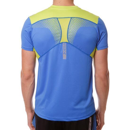 Camiseta Running JoMA Azul Hombre