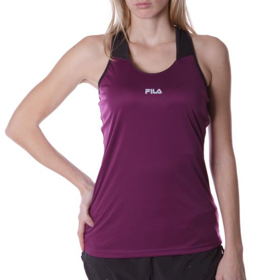 Camiseta Tenis FILA Morado Mujer