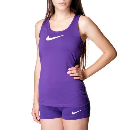 Camiseta Fitness NIKE Tank Morado Mujer