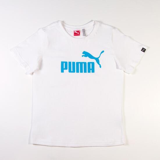 Camiseta Moda PUMA Large Blanco Niño (8-16)