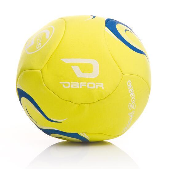 Balón Fútbol Playa DAFOR Training Amarillo Fluor