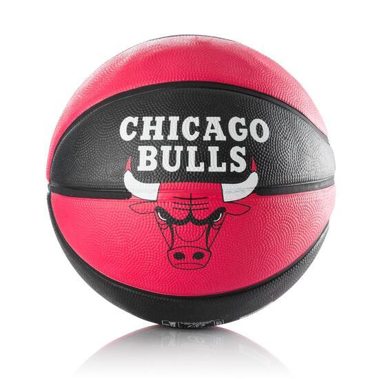 Balón Baloncesto SPALDING Chicago Bulls Rojo