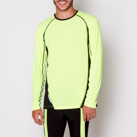 Camiseta Manga Larga Running IPSO Hombre