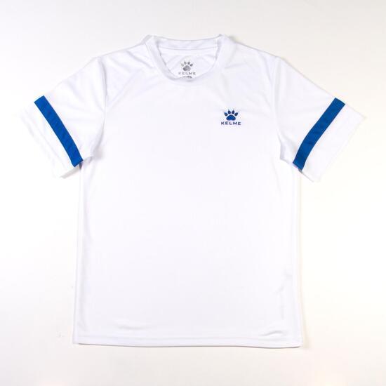 KELME Camiseta Fútbol Blanco Niño (8-16)