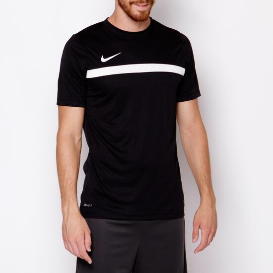 NIKE ACADEMY Camiseta Fútbol Negro Hombre
