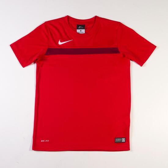 NIKE ACADEMY Camiseta Fútbol Rojo Hombre  0630035694d12