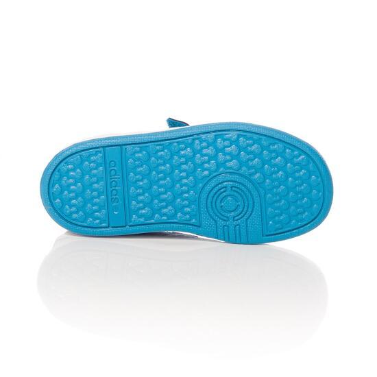 ADIDAS HOOPS Zapatillas Casual Velcros Negro Niño