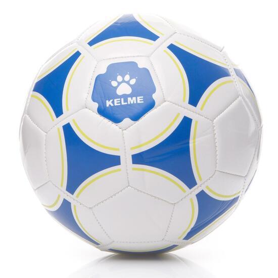 42f50b7398772 KELME SOCCER Balón Fútbol Blanco Azul