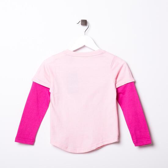 Camiseta SILVER Malva Niña (2-8)