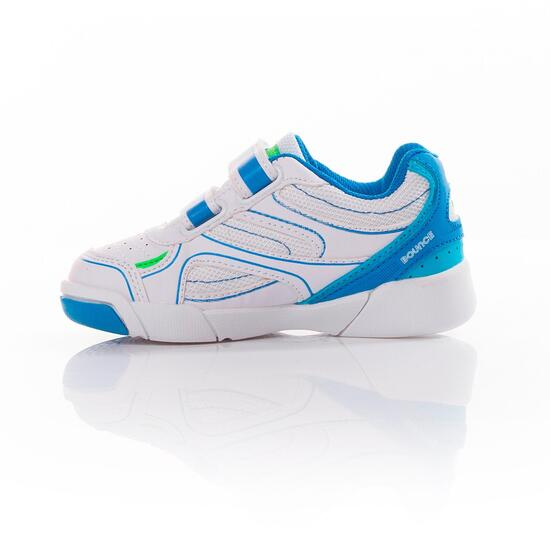 PROTON Zapatillas Tenis Blanco Azul Niño (22-27)