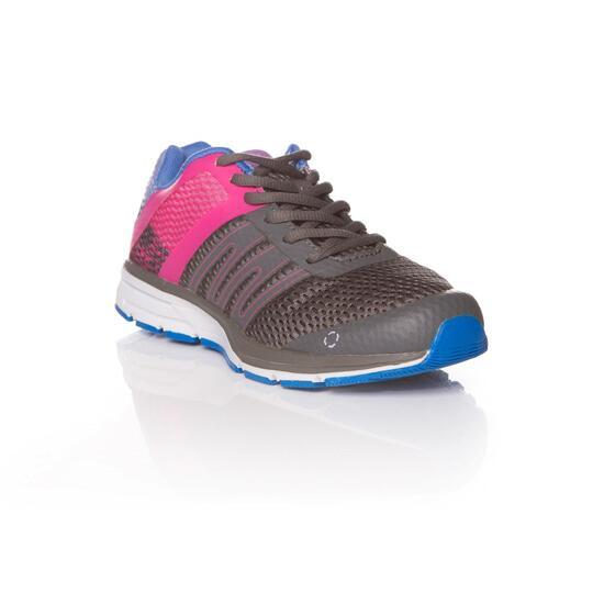 IPSO Zapatillas Running Gris Mujer