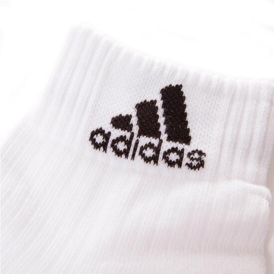 ADIDAS PERFORMANCE ANKLE Calcetines Blancos