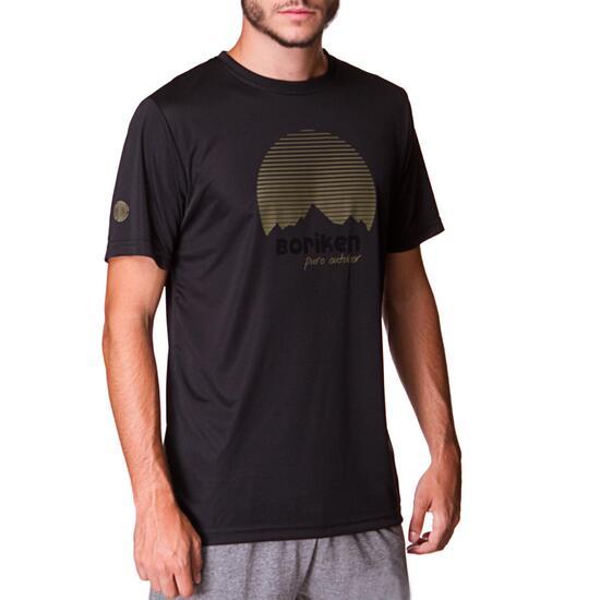 BORIKEN Camiseta Antracita Hombre