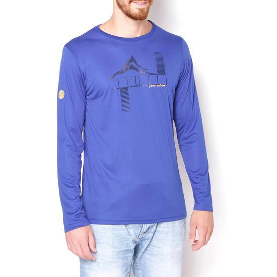 BORIKEN Camiseta Azul Royal Hombre