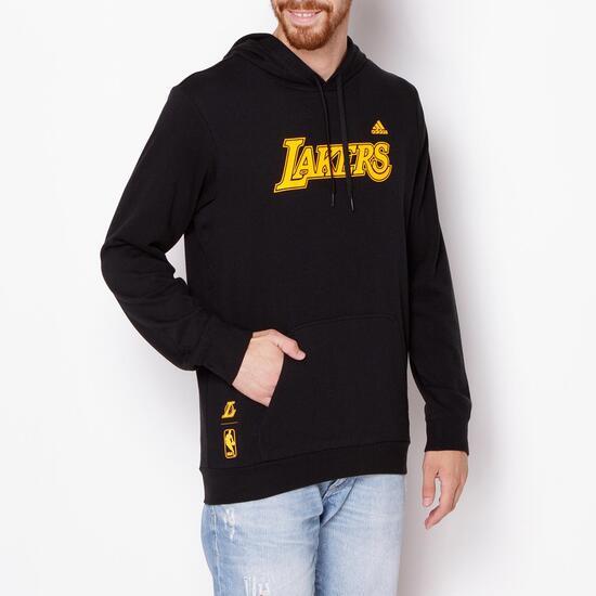 7e010a1e340 Adidas Sudadera Sprinter Hombre Lakers Negra qqnA67rx