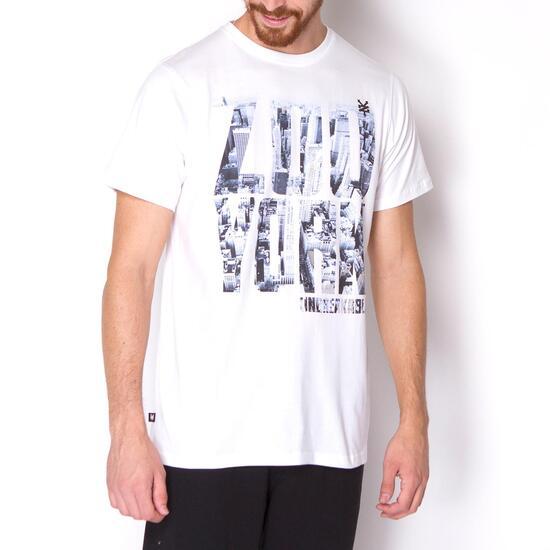 ZOOYORK CHRYSLER Camiseta Manga Corta Blanca Hombre