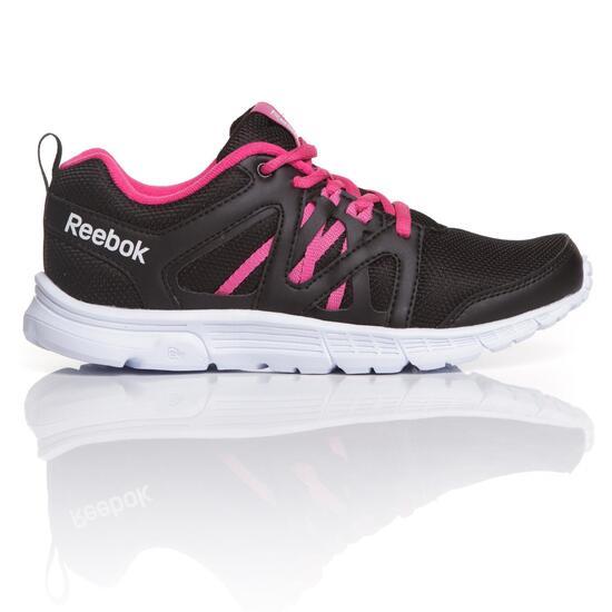 REEBOK SPEEDLUX Zapatillas Running Negro Fucsia Mujer