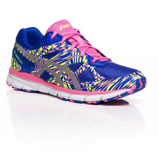 ASICS GEL LIGHTPLAY 2 GS Zapatillas Running Azul Rosa Niña (36-40)