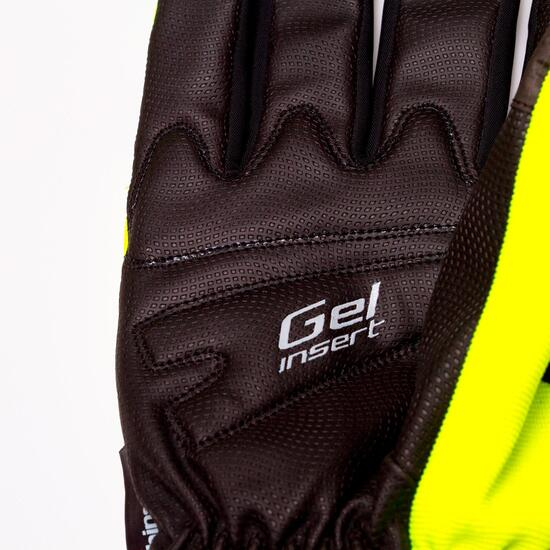 Guantes Ciclismo MÍTICAL THINSULATE Amarillo Flúor