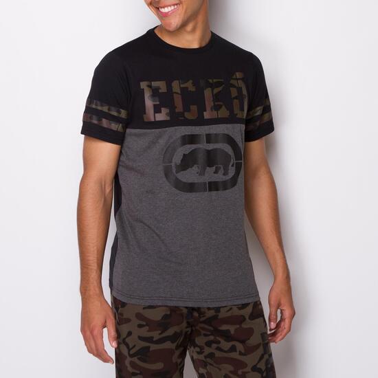 ECKO WARRIOR Camiseta Manga Corta Negro Hombre