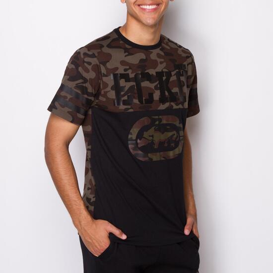 ECKO WARRIOR Camiseta Manga Corta Camuflaje Hombre