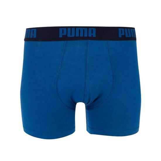 Puma Calzoncillos Boxer Azul Negro