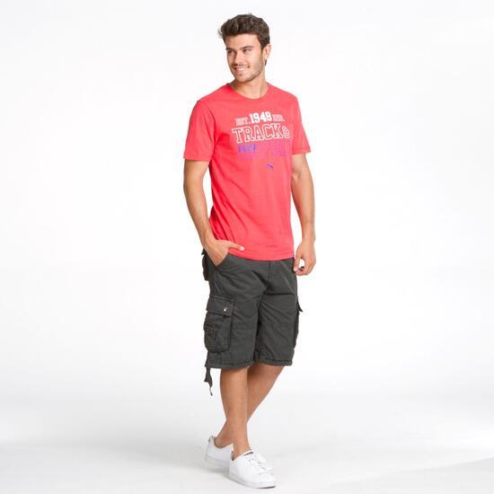 PUMA Camiseta Roja Hombre