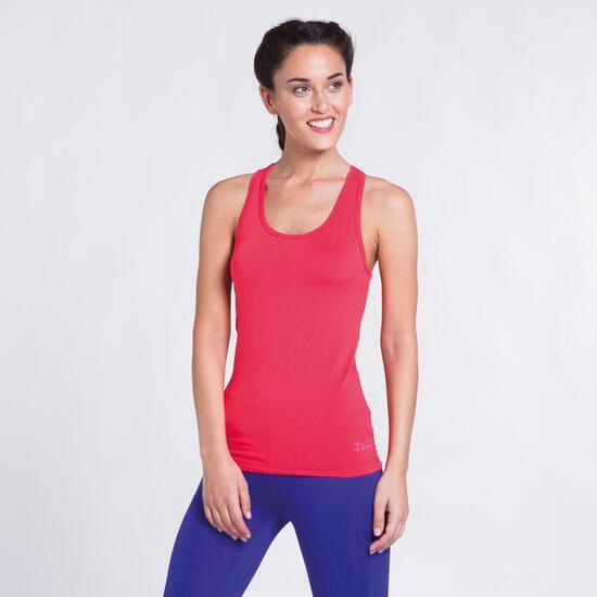 Camiseta Coral Yoga ILICO Mujer