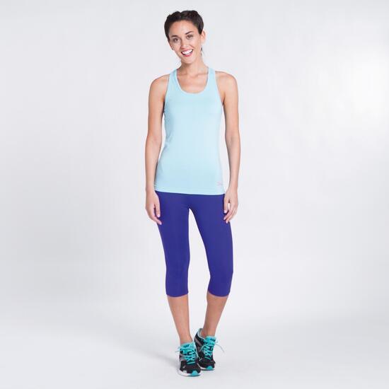 Camiseta Celeste Yoga ILICO Mujer
