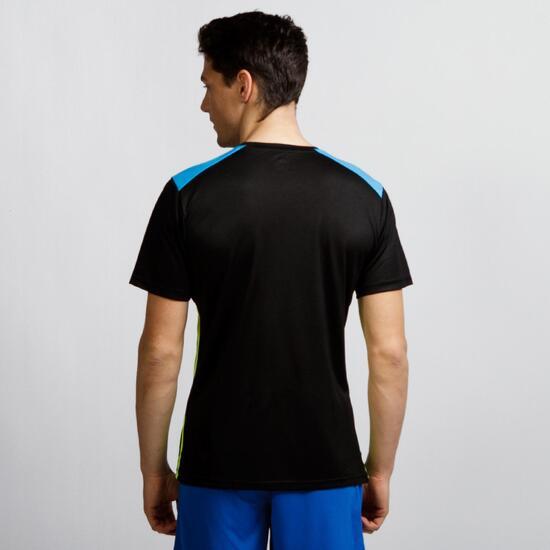 PUMA Camiseta Fútbol Negro Hombre