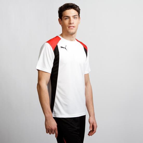 PUMA Camiseta Fútbol Blanco Hombre