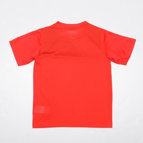 PUMA ESQUADRA Camiseta Fútbol Roja Niño (10-16)