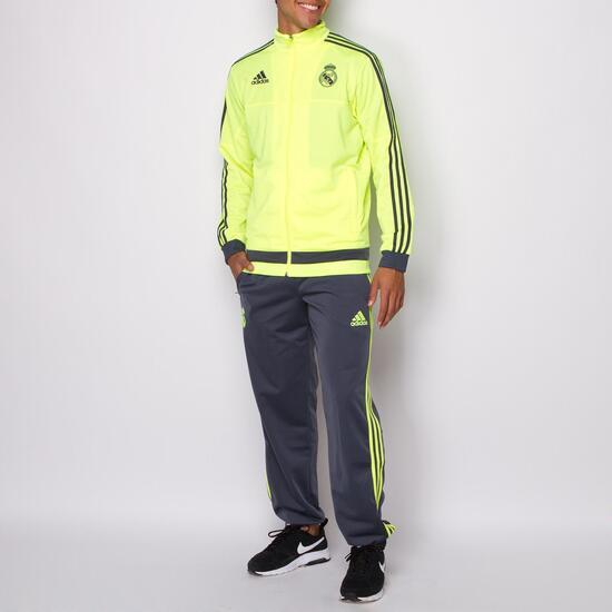 ADIDAS Chándal Real Madrid Amarillo Hombre