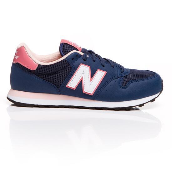 NEW BALANCE Sneakers Azul Rosa Mujer