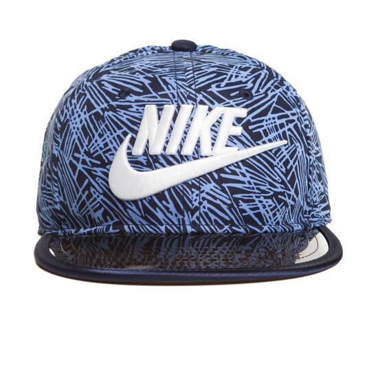 8f221319a78de Nike Plam True Gorra Plana Marino Niño - AZUL