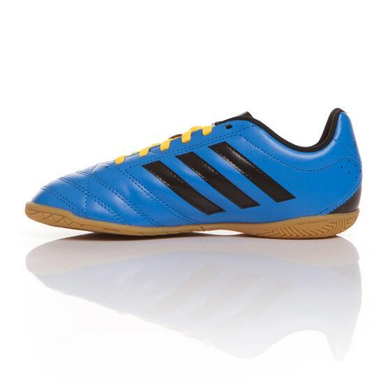ADIDAS GOLETO Botas Fútbol Sala Niño Azul Negro (36-38,5)
