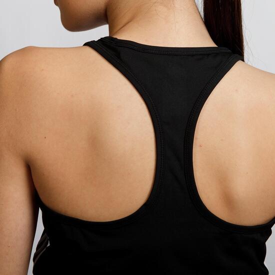 ADIDAS BASIC Camiseta Negra Mujer