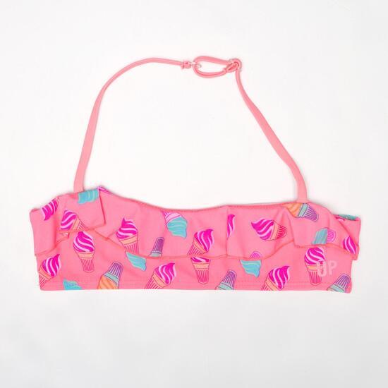 Top Bikini UP Rosa Niña (2-8)
