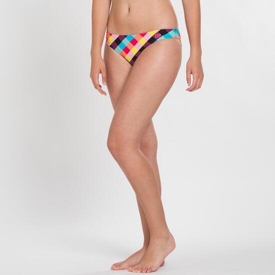 Braguita Bikini UP STAMPS Cuadros Multlicolor