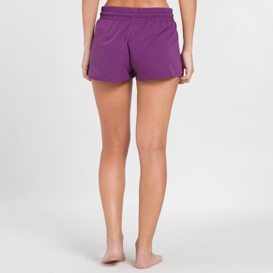 Pantalón Corto UP BASIC Morado Mujer