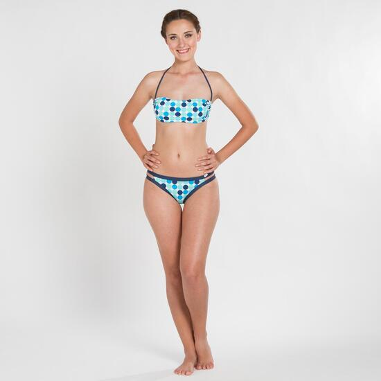 Bikini Bandeau SILVER Lunares Mujer