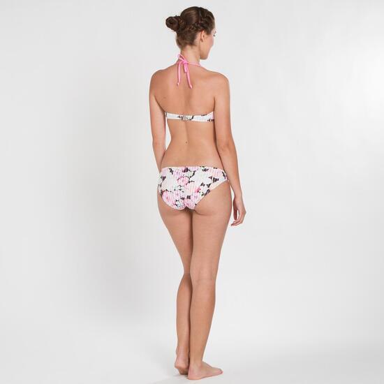 Bikini Bandeau SILVER Estampado Floral Mujer