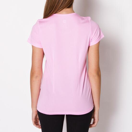 Camiseta Running IPSO BASIC Rosa Mujer