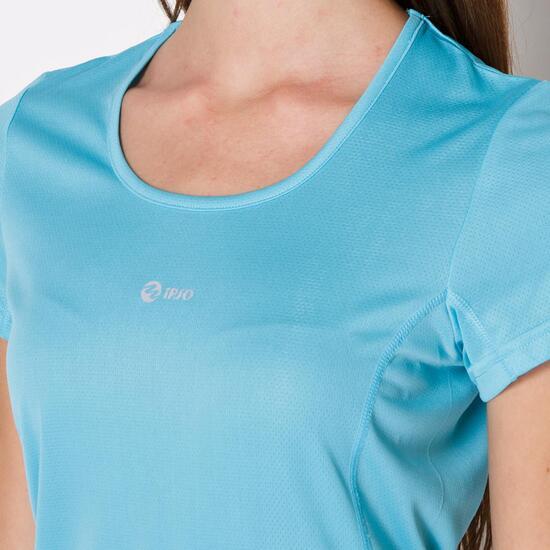 Camiseta Running IPSO BASIC Celeste Mujer