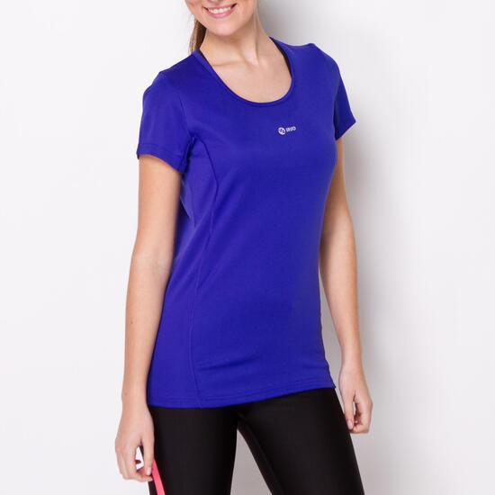 Camiseta Running IPSO BASIC Azul Mujer