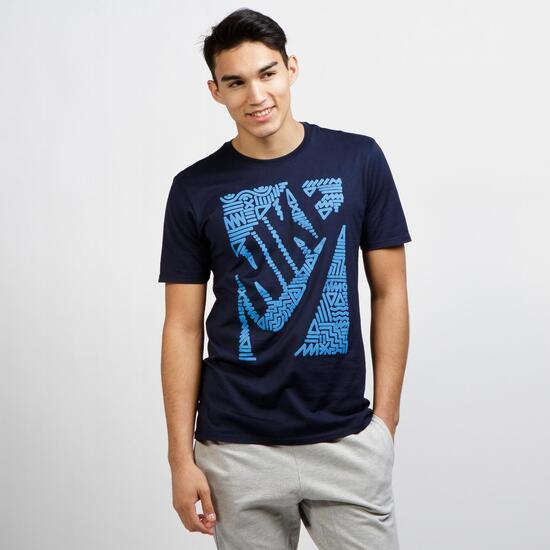 Nike Futura Camiseta Manga Corta Marino Hombre - AZUL  ba37902de1870