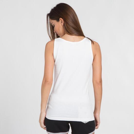 Camiseta Tirantes TRUNK&ROOTS Blanca Mujer