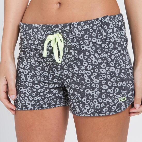 Pantalón Corto Animal Print TRUNK&ROOTS Mujer